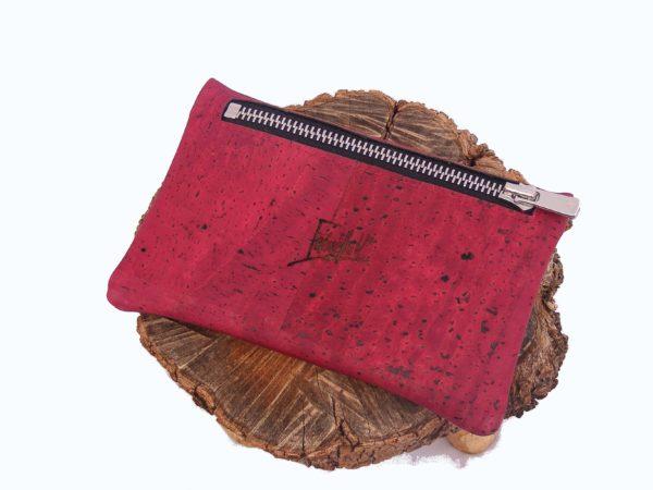 Porte monnaie en liège-porte monnaie vegan-porte monnaie éco responsable-porte monnaie homme-porte monnaie femme-cuir de liège-mode éthique-mode éco responsable-artisanat-fabriqué en France