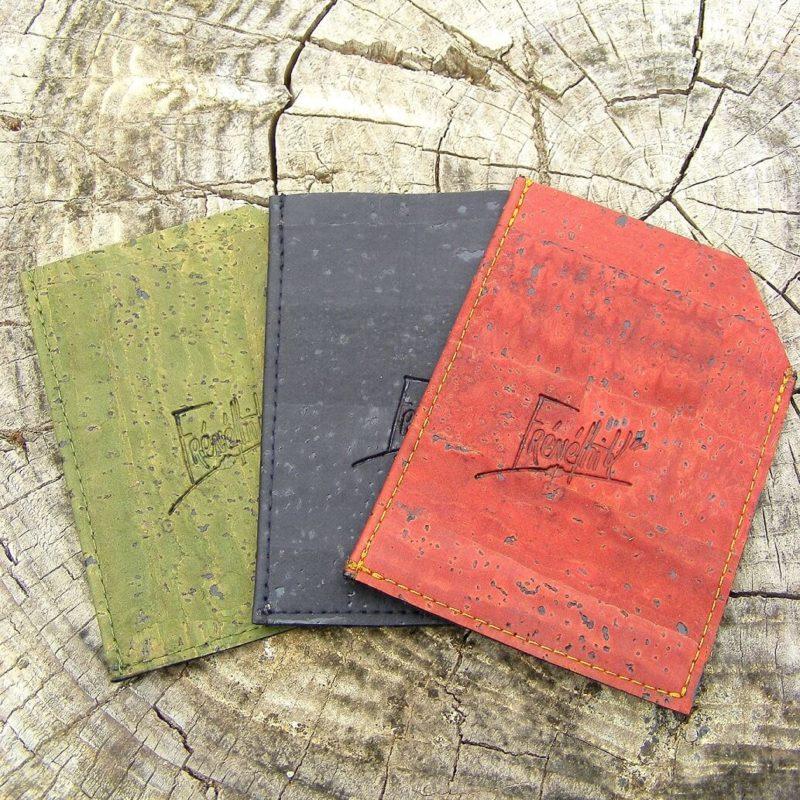 Porte cartes Bourdon-maroquinerie éthique-vegan-mode écoresponsable-Frénéthik