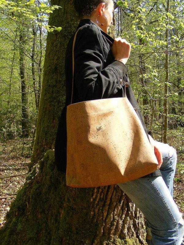 Frénéthik-Sac HERCULE-B maroquinerie vegan-mode éthique-mode vegan-cuir vegan-grand sac à main