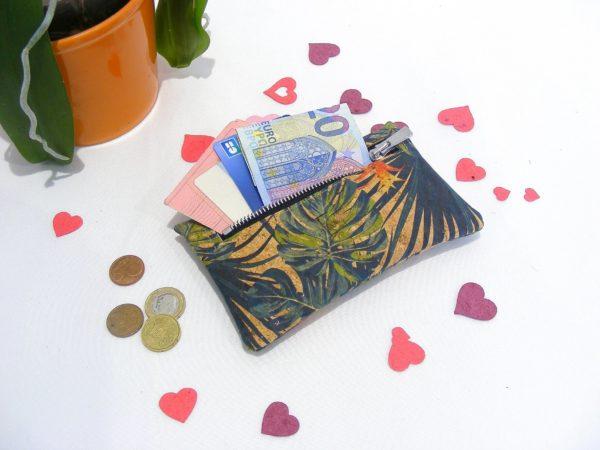 Porte monnaie JON-maroquinerie vegan-mode éthique-cadeau éco responsable-mode durable-cadeau femme