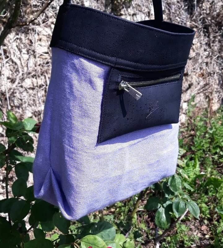 Sac Papillon - lin - liège - mode végane-mode éthique-fabriqué en France-Frénéthik (2)