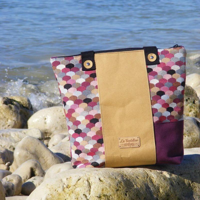Andgel- sac en coton-unique-original-fait en France-artisanat (1)