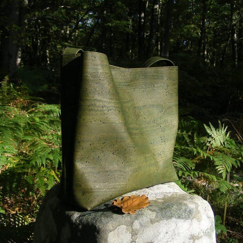 Sac HERCULE K-maroquinerie vegan-mode éthique-mode vegan-cuir vegan-grand sac à main